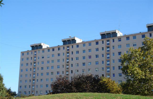 Zágrábi panel lakótelep első panelhősziegetelése