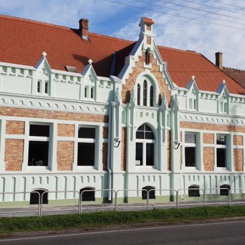 Jánossomorja -holmlokzatfelújítás (2018)